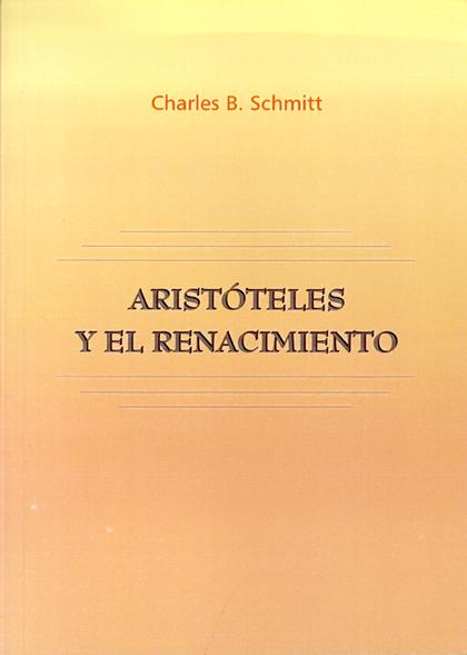 ARISTÓTELES Y EL RENACIMIENTO