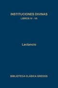 INSTITUCIONES DIVINAS. LIB IV-VII. EBOOK.