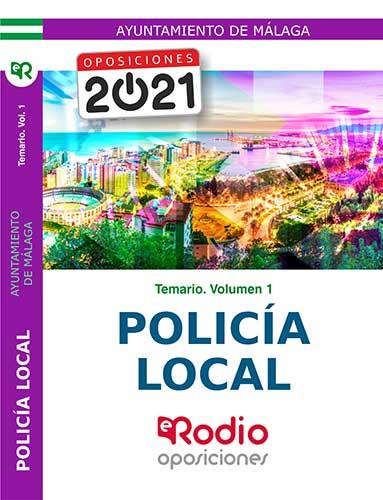 POLICÍA LOCAL. AYUNTAMIENTO DE MÁLAGA. TEMARIO.  V