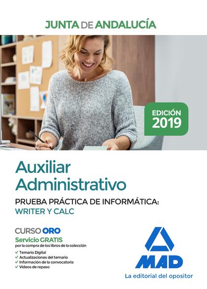 AUXILIAR ADMINISTRATIVO 2019 JUNTA ANDALUCÍA.