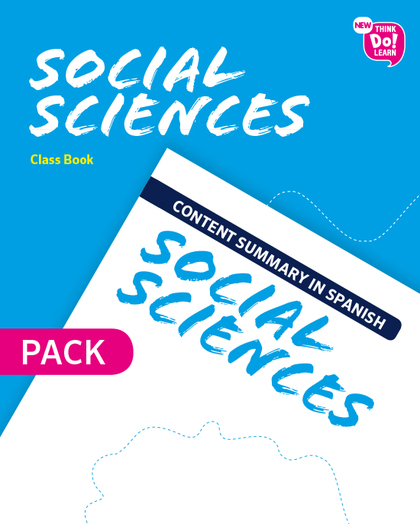 NEW THINK DO LEARN SOCIAL SCIENCES 4. CLASS BOOK + CONTENT SUMMARY IN SPANISH PA