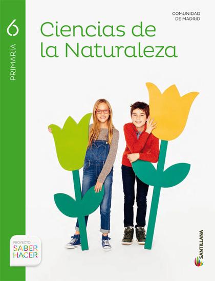 CIENCIAS DE LA NATURALEZA MADRID 6 PRIMARIA SANTILLANA.