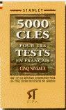 FRANCES 5000 TESTS CLAVES
