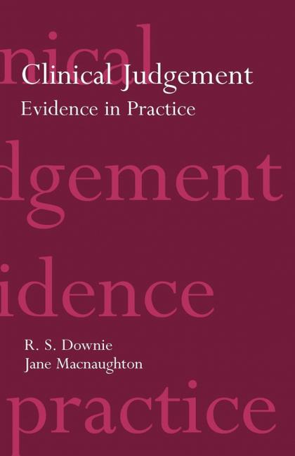 CLINICAL JUDGEMENT