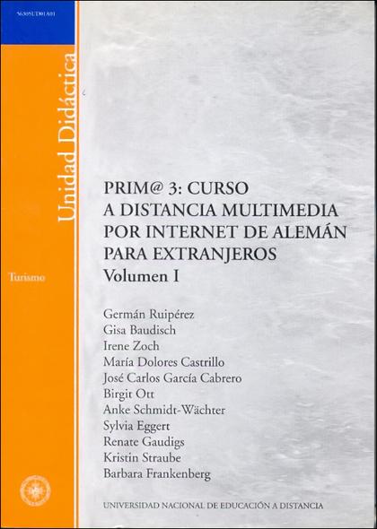PRIM@ 3: CURSO A DISTANCIA MULTIMEDIA POR INTERNET DE ALEMÁN PARA EXTRANJEROS.
