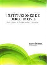 INSTITUCIONES DE DERECHO CIVIL. PARTE GENERAL.