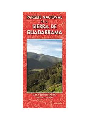 MAPA PARQUE NACIONAL DE LA SIERRA DE GUADARRAMA