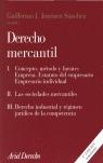 DERECHO MERCANTIL I.