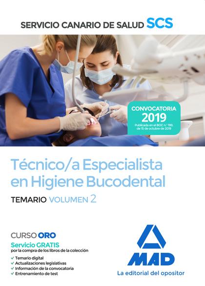 TÉCNICO/A ESPECIALISTA EN HIGIENE BUCODENTAL DEL SERVICIO CANARIO DE SALUD. TEMA.
