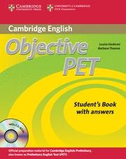 OBJECTIVE PET SECOND EDITION (ST+KEY+CD)