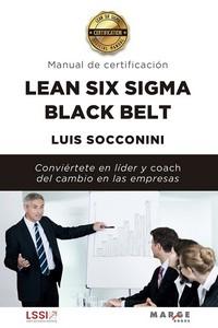 LEAN SIX SIGMA BLACK BELT. MANUAL DE CERTIFICACIÓN.