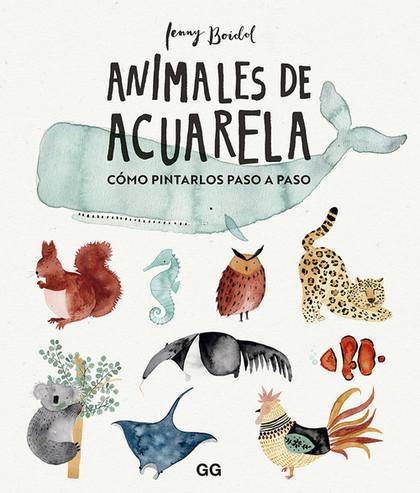 ANIMALES DE ACUARELA                                                            CÓMO DIBUJARLOS