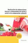 REALIZACION DE ELABORACIONES BASICAS Y ELEMENTALES DE COCINA.