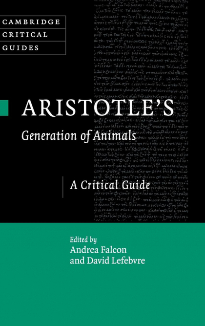 ARISTOTLE´S GENERATION OF ANIMALS