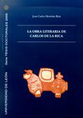 LA OBRA LITERARIA DE CARLOS DE LA RICA