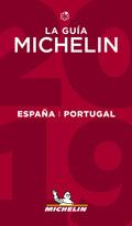 GUIA MICHELIN ESPAÑA PORTUGAL 2019 ESPAÑOL