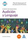 CUERPO DE MAESTROS AUDICIÓN Y LENGUAJE. PLAN DE APOYO PARA 2º DE EDUCACIÓN PRIMA.