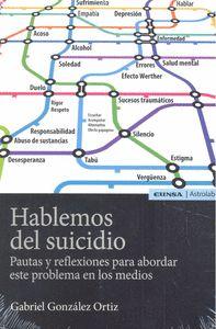 HABLEMOS DEL SUICIDIO                                                           PAUTAS Y REFLEX