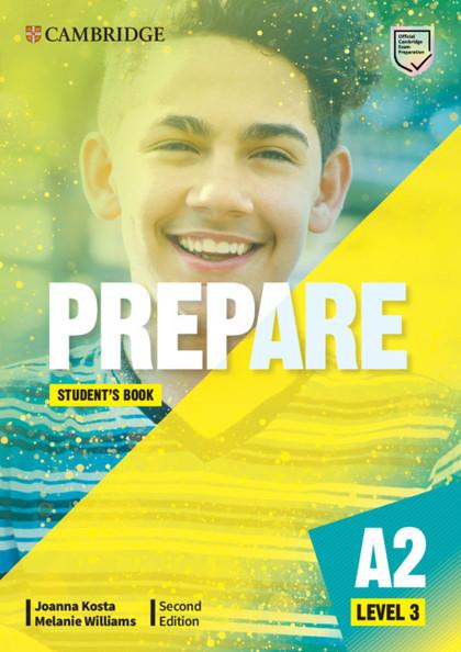 PREPARE SECOND EDITION. STUDENT´S BOOK. LEVEL 3