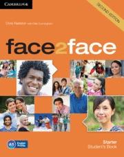 FACE2FACE STARTER STUDENT´S BOOK (INGLÉS) 2ND EDICIÓN
