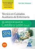 TÉCNICO EN CUIDADOS AUXILIARES DE ENFERMERÍA, SERVICIO DE SALUD DE CASTILLA Y LEÓN, SACYL. TEST