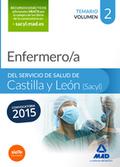 ENFERMERO/A DEL SERVICIO DE SALUD DE CASTILLA Y LEÓN (SACYL). TEMARIO VOLUMEN II.
