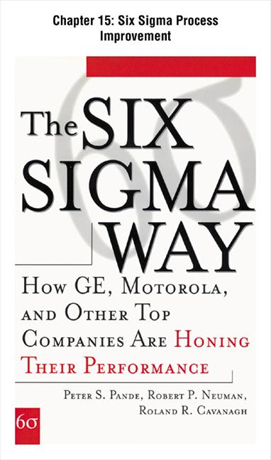 The Six Sigma Way : How GE, Motorola, and Other Top Companies are Honing Their Performance: Six Sigma Process Improvement