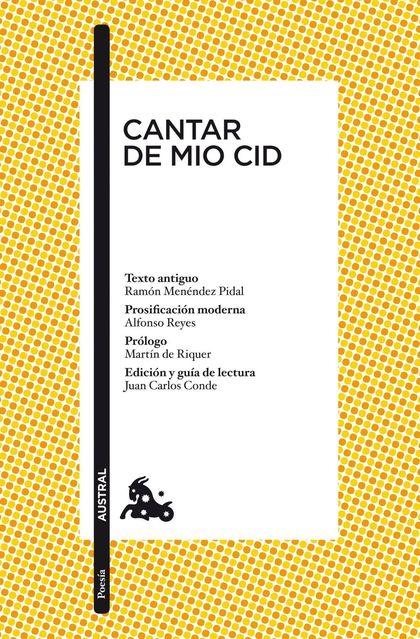 CANTAR DE MIO CID.