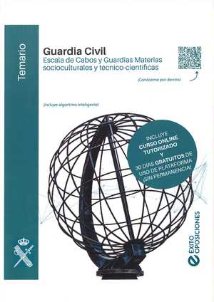 TEMARIOÁGUARDIA CIVIL ESCALA DE CABOS Y GUARDIASÁMATERIASÁSOCIO-CULTURALESÁYÁTÉC.