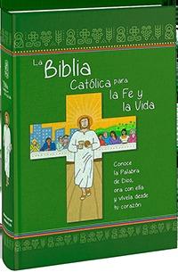 LA BIBLIA CATÓLICA PARA LA FE Y LA VIDA. EDICIÓN DOS TINTAS / CARTONÉ