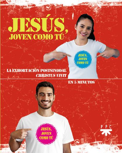 (25 UNIDADES PACK) JESUS, JOVEN COMO TU.