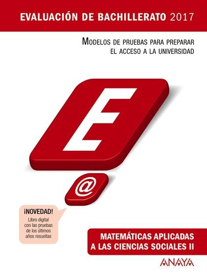 MATEMÁTICAS APLICADAS A LAS CIENCIAS SOCIALES II.