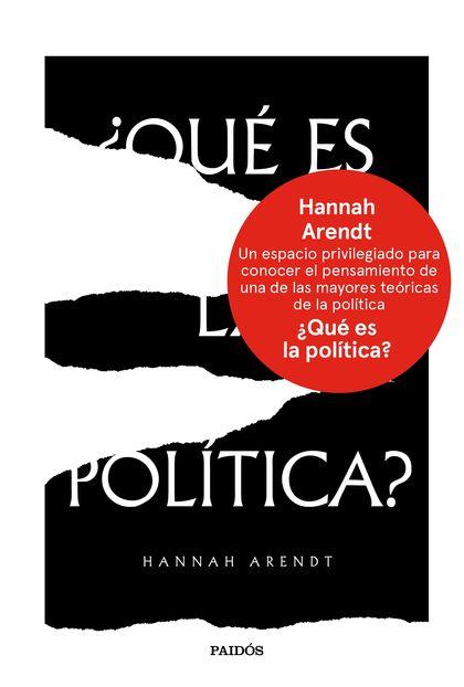 ¿QUÉ ES LA POLÍTICA?.