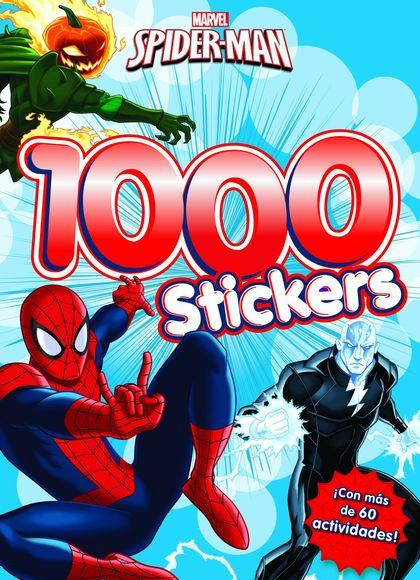 SPIDER-MAN. 1.000 STICKERS                                                      ACTIVIDADES CON