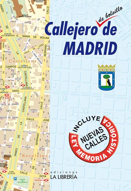 CALLEJERO DE BOLSILLO DE MADRID.