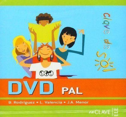 CLAVE DE SOL 1 Y 2 - DVD PAL