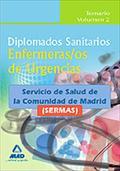 DIPLOMADOS SANITARIOS. ENFERMERAS/OS DE URGENCIAS DEL SERVICIO DE SALUD DE LA CO
