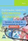 DIPLOMADOS SANITARIOS, ENFERMERAS/OS DE URGENCIAS, SERVICIO DE SALUD DE LA COMUNIDAD DE MADRID