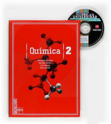 QUÍMICA, 2 BACHILLERATO