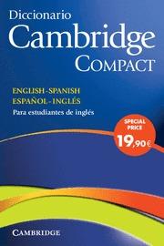 DICCIONARIO CAMBRIDGE COMPACT INGLES.