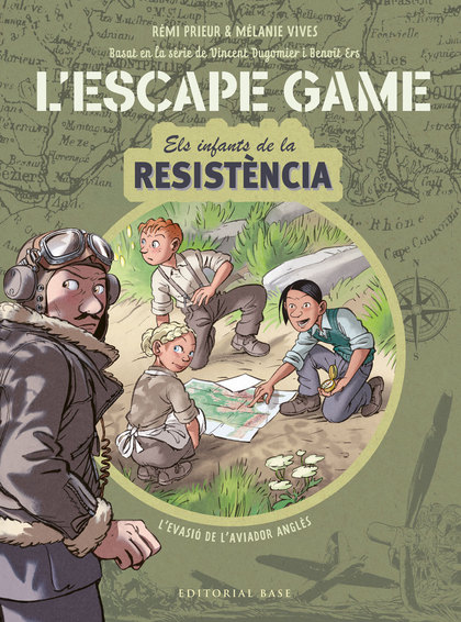 ESCAPE GAME. INFANTS DE LA RESISTÈNCIA . L´EVASIÓ DE L´AVIADOR ANGLÈS.