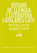 MISCEL·LÀNIA ALBERT HAUF, 3.