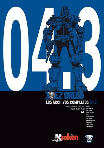 JUEZ DREDD, LOS ARCHIVOS COMPLETOS 04.3
