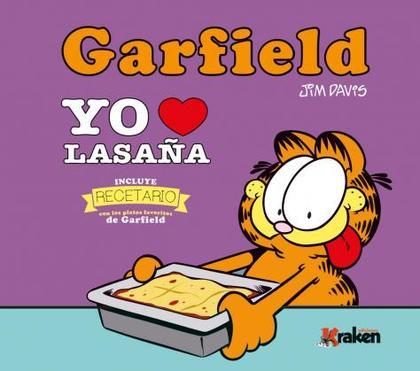 GARFIELD, YO AMO LA LASAÑA