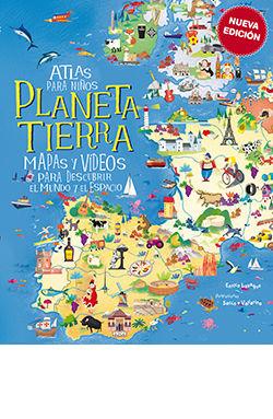 ATLAS PARA NIÑOS, PLANETA TIERRA -NUEVA EDICION.