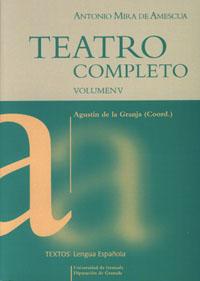 TEATRO COMPLETO.  VOLUMEN V  ..