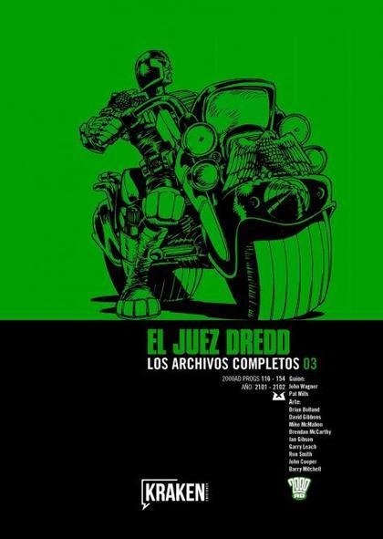 JUEZ DREDD 03. LOS ARCHIVOS COMPLETOS