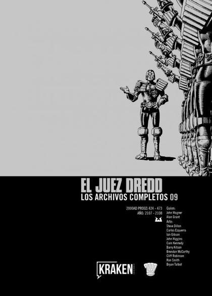 JUEZ DREDD. LOS ARCHIVOS COMPLETOS 09.