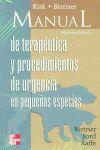 MANUAL TERAPEUTICA URGENCIA PEQUEÑAS ESPECIES 7§