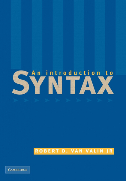 AN INTRODUCION TO SYNTAX